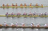 图文:水运会赛艇比赛 山东女八人单桨有舵冠军