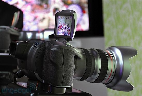 佳能展示4K超高清摄像概念相机