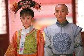 图:尔康紫薇进大殿见皇上