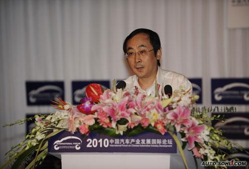 中国汽车工程学会副秘书长张进华
