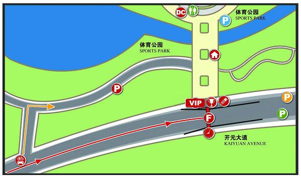 配图:三门峡―洛阳终点布局图