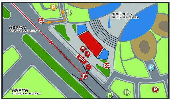 配图:洛阳―郑州起点布局图、洛阳―郑州终点布局图