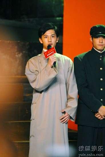 杨洋/杨洋很开心能参演《建党伟业》