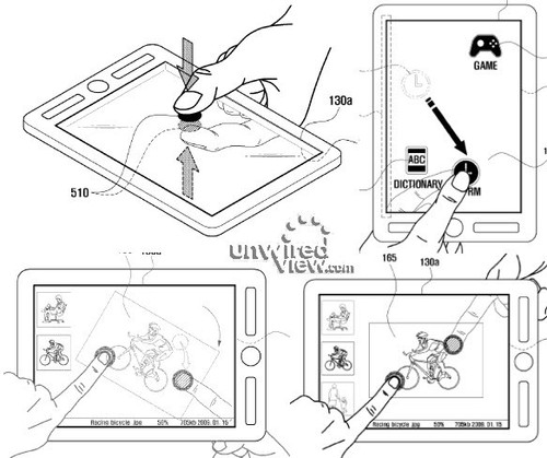平板电脑新概念 正反面都支持多点触摸