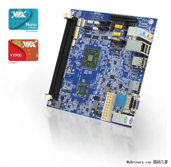 VIA迷你小板再发力 升级全高清芯片组
