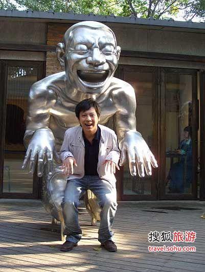 个性雕塑随处可见
