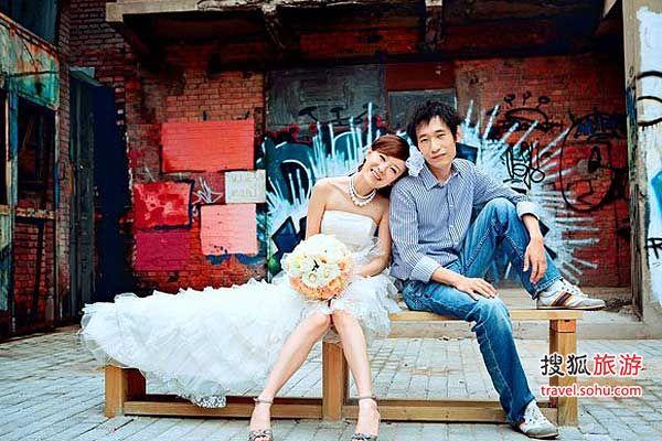 情侣们个性婚纱拍摄地