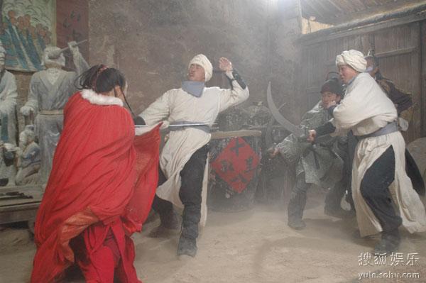 图:《少林寺传奇之大漠英豪》精彩剧照 - 17图片