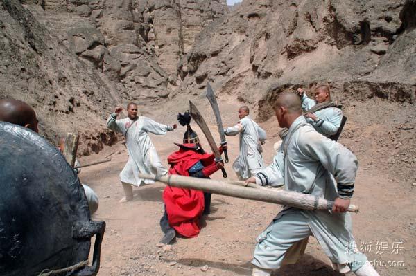 图:《少林寺传奇之大漠英豪》精彩剧照 - 100图片