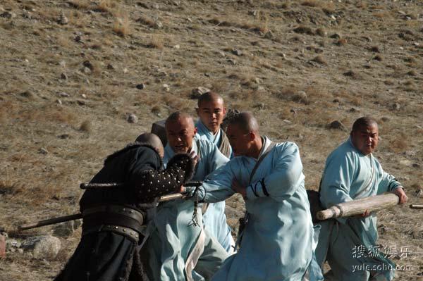 图:《少林寺传奇之大漠英豪》精彩剧照 - 77图片