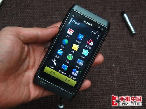 1200万像素Symbian^3 诺基亚N8亲体验