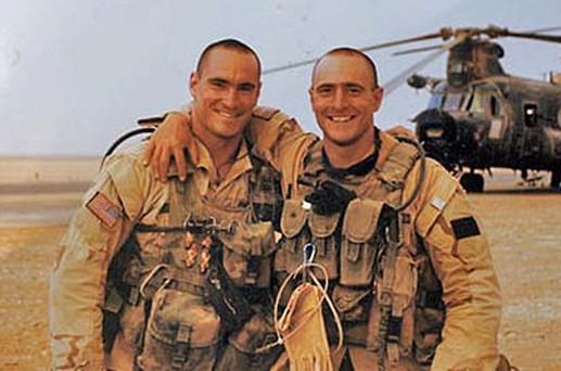 在阿富汗服役的蒂尔曼