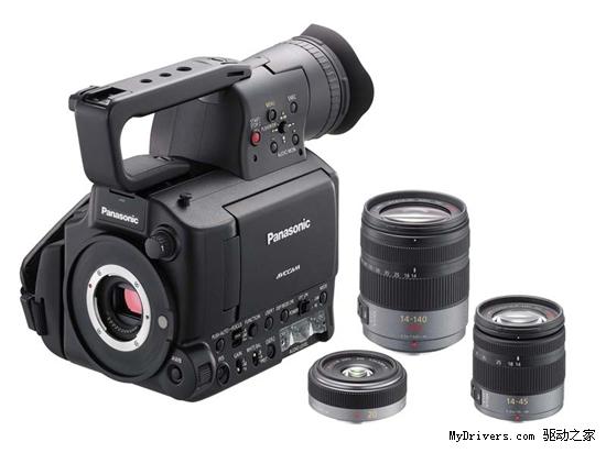 M4/3系统专业摄像机 松下AF105正式发布