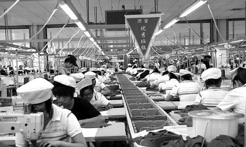 浙江宁波服装厂_宁波节能形势严峻 亚洲最大针织厂停产8天亏2亿-搜狐新闻