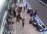 F1意大利站悲惨进站事故