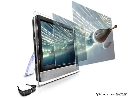 微星发布首款多点触摸3D一体机