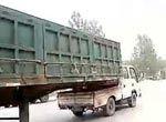 中国惊现史上最牛小货车司机