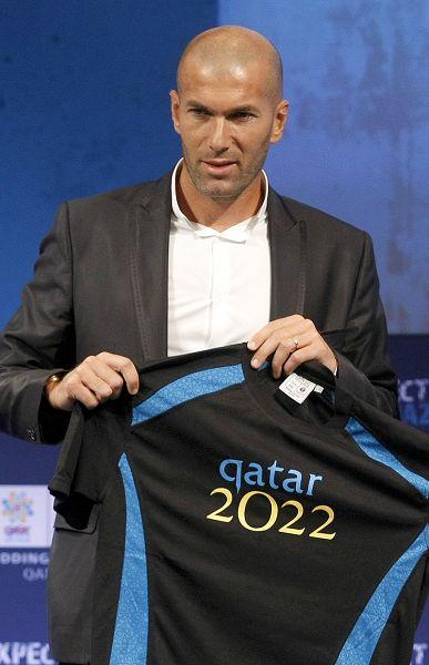齐达内助卡塔尔申办世界杯