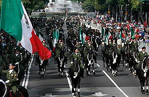 墨西哥迎独立200周年:毒品战争阴魂不散(组图)