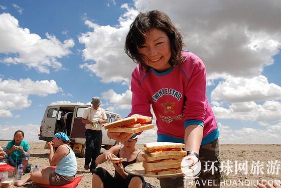 蒙古人吃饭 欧洲标准(组图)