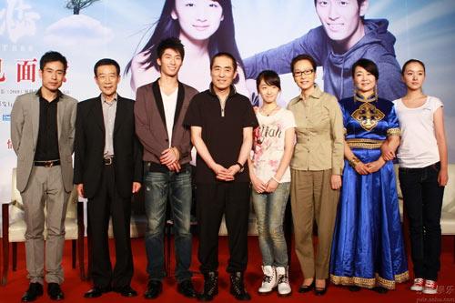 图:《山楂树之恋》 北京首映式1