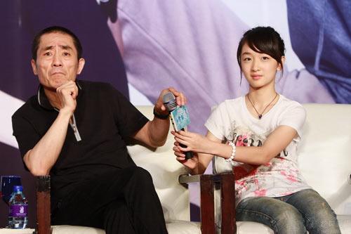 图:《山楂树之恋》 北京首映式10