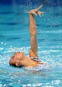图文:花游世界杯单人决赛 水中表演
