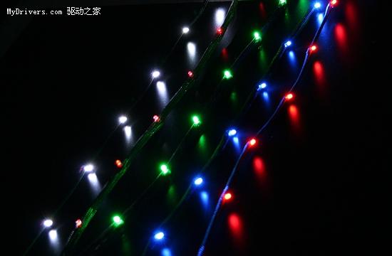 机箱装饰新方案 NZXT推LED彩灯串