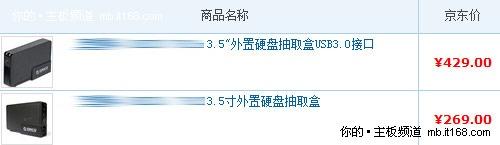 理由二:USB3.0设备普及度太低/价格贵