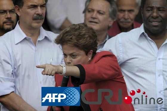 迪尔玛・罗塞芙    图片来源:(AFP/国际在线)