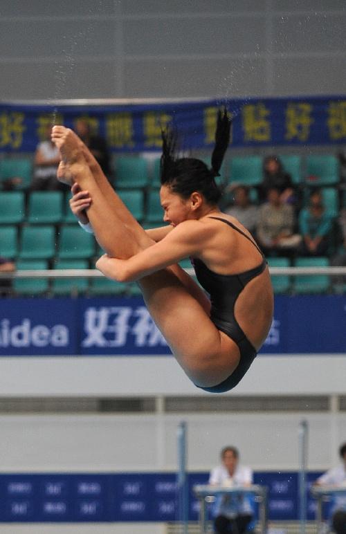 2018年明星跳水_明星跳水表演赛落幕 林跃火亮十米台夺冠