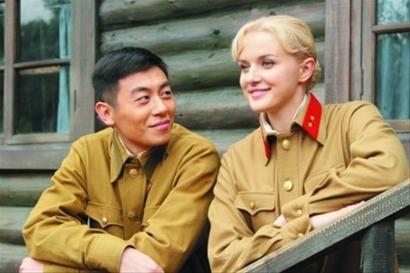 朱亚文和俄罗斯美女伊莉莎