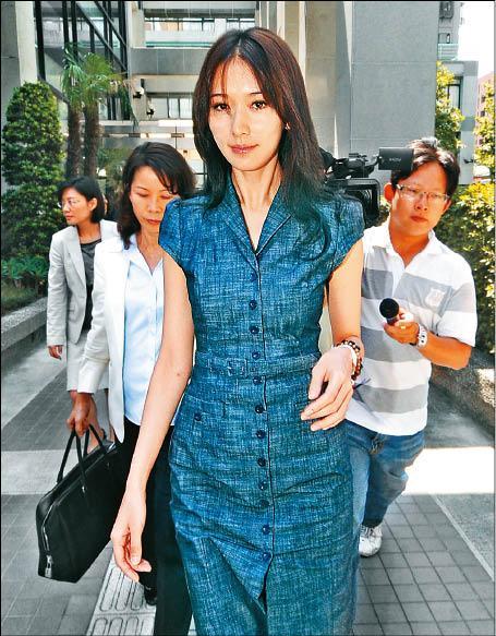 林志玲为补税风波出庭