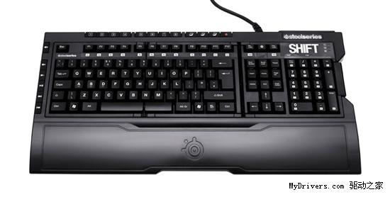 可换键面 SteelSeries战霸键盘升级Shift