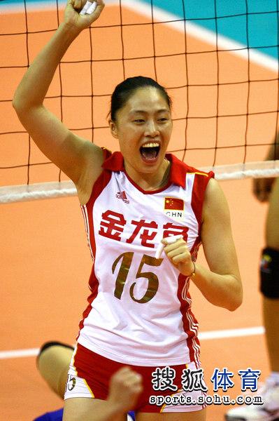 中国女排亚洲杯名单_图文:亚洲杯中国女排vs泰国 马蕴雯非常兴奋
