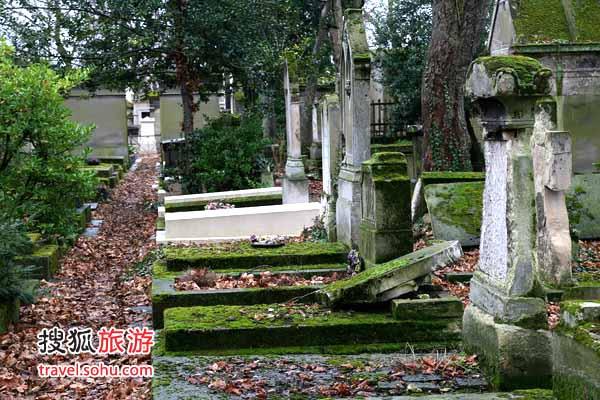 法国 拉雪兹神父公墓   拉雪兹神父公墓是世界上最著名的墓地之一