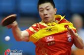 图文:乒球世界杯男团3-1日本 马龙力挽狂澜