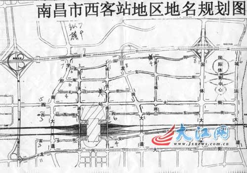 田畈街新区规划图
