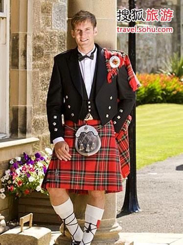 苏格兰男人爱穿长裙 不穿内裤