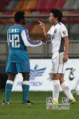 卢西亚诺4场3球天津2-1完胜 陈涛怒斥江苏外援
