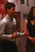 中国网球公开赛举行晚宴 竖起大拇指