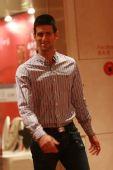 中国网球公开赛举行晚宴 老土打扮