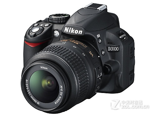 1400万像素单反 尼康D3100双镜头套机降