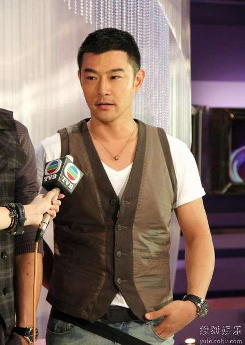 黄维德接受TVB访问