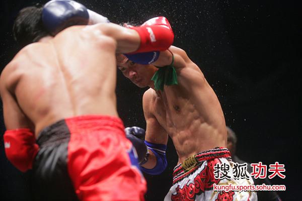 蓝桑坤成功复仇张开印师弟 蓝桑坤重拳图片
