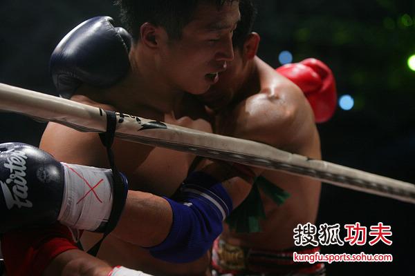 蓝桑坤复仇张开印师弟 拳台王者风范十足图片