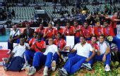 图文:巴西男排获世锦赛冠军 古巴队获得亚军