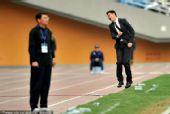 图文:[亚青赛]国青0-2朝鲜 宿茂臻暴怒