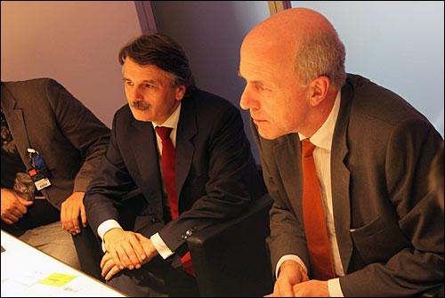 塔塔集团首席执行官Carl Peter Forster先生 捷豹路虎首席执行官诗韦德博士Dr.Ralf Speth