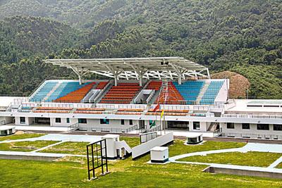 广州飞碟训练中心实际图